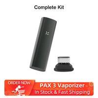 Rectangle 2 in 1 dry herb Vaporizer Kit Electronic Cigarettes 3500mAh & Vibrating alert herbal vaporizer No Bluetooth VS PAX 3