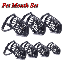 Pets-Supplies Dog-Muzzles Rubber Environmental-Protection Classic Durable Stylish Safety