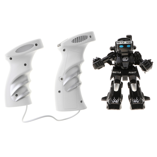 2 4G RC Sensing Boxing Robots Remote Control Battle Robots Figures Toy Kids Xmas Gifts