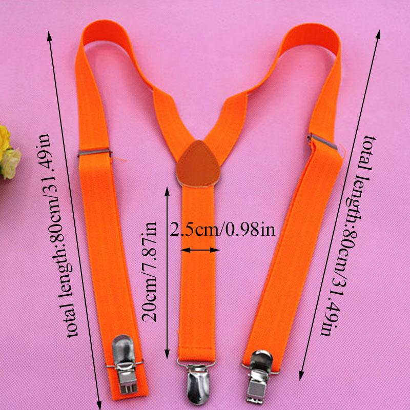 Adjustable Adult Suspender Straps Clip-on Men Women 3 Clip Pants Y Shape Clip-on Men's Suspenders For Women Belt Straps