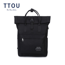 TTOU женский рюкзак с USB зарядкой, школьный рюкзак из парусины, рюкзак для ноутбука для девочек