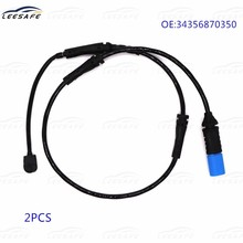 2PCS 34356870350 Rear Brake Pad Wear Sensor for BMW X3 G01 F97 X4 G02 F98 Brake Induction Wire Replacement 2017-2019(China)