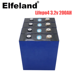 2020 new 4pcs 3.2v 200ah lifepo4 battery 24v200ah lithium cell phosphate solar iron eu usa russia fast delivery tax free