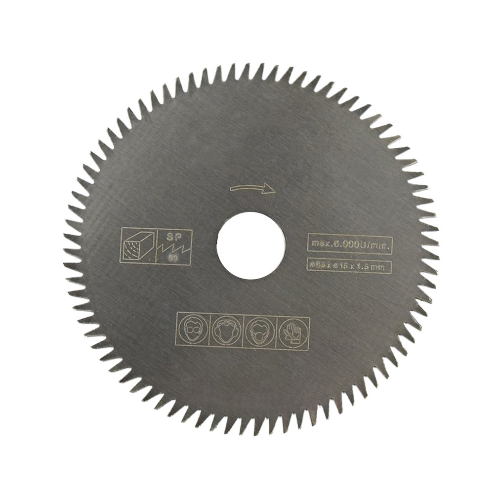 36/24 Teeth TCT Circular Saw Blade Wheel Discs TCT Alloy Woodworking Multifunctional Saw Blade For Wood Metal Cutting 85x15MM
