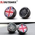 KJAUTOMAX Für Mini Cooper R50 R53 R54 R55 R56 R60 F54 F55 F56 Elektronische Uhr Union Jack Mini Logo Auto zubehör Metall-in Kfz Innenraum Aufkleber aus Kraftfahrzeuge und Motorräder bei