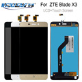 Для ZTE BLADE X3 A452 t620 ЖК-дисплей + сенсорный экран lcds дигитайзер сборка Замена для ZTE x3 дисплей телефон + Инструменты
