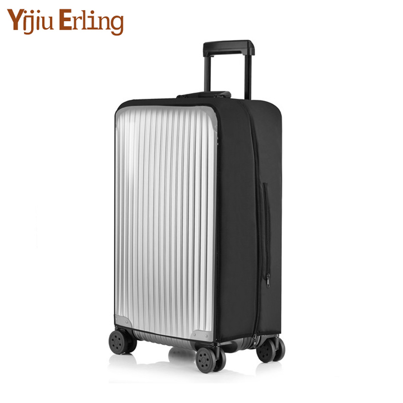 20-30 Size Transparent PVC Thickening Trolley Case Cover Luggage Case Waterproof Wear-resistant Dust Cover Protective Case Set