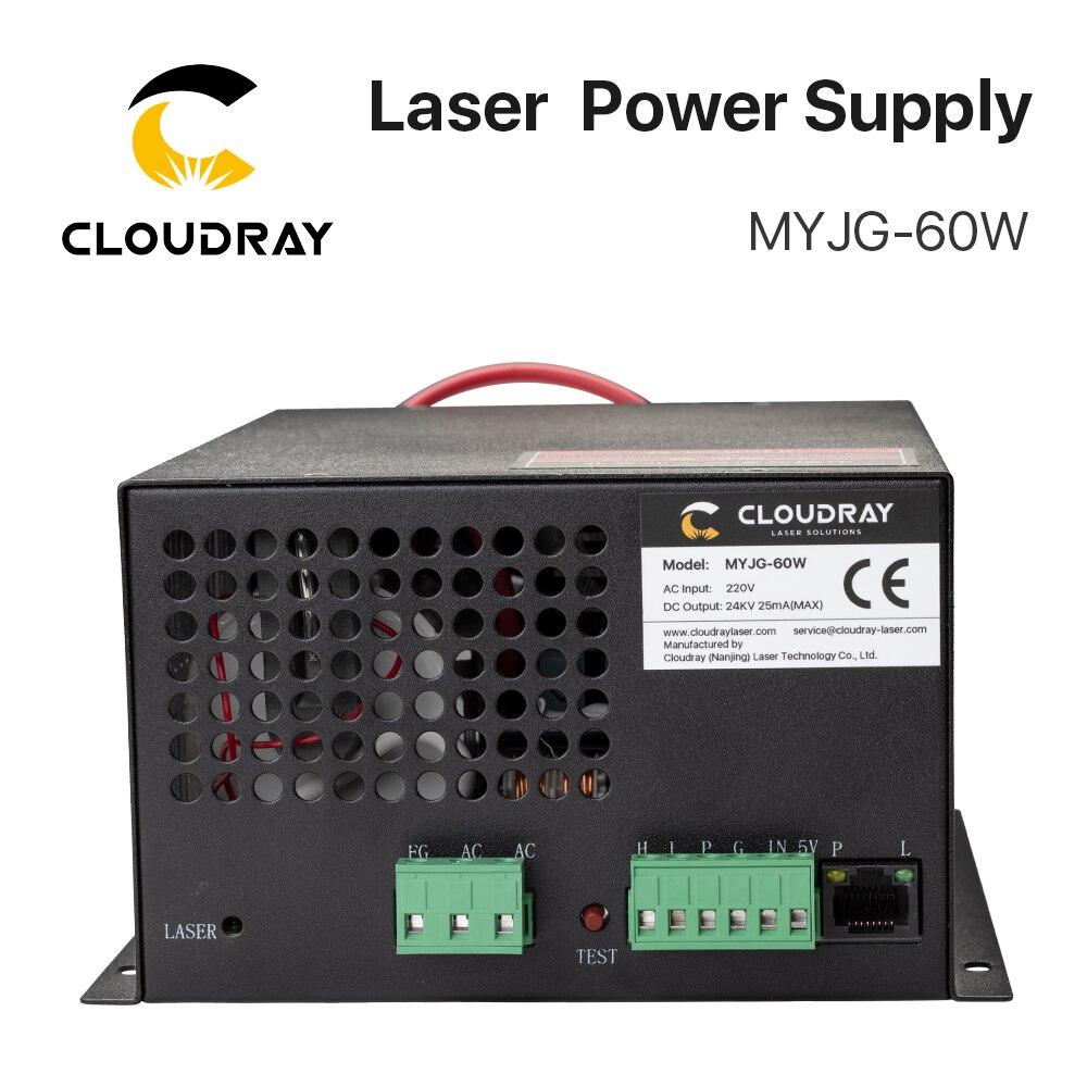 Cloudy 60W CO2 laser-toiteallikas CO2 lasergraveerimisega - Puidutöötlemismasinate varuosad - Foto 5