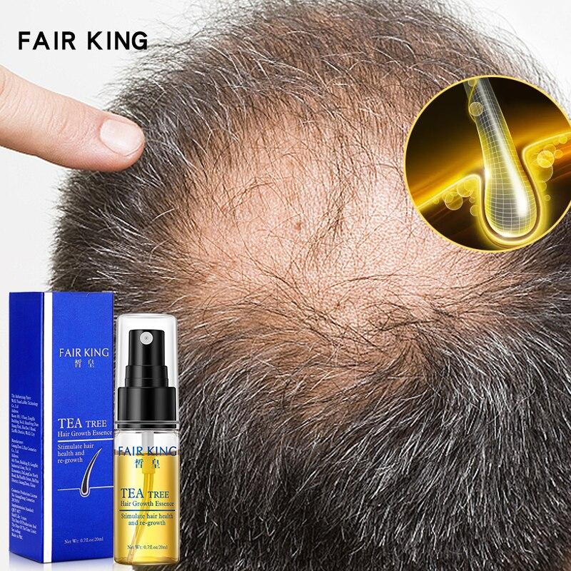 Arbre à thé croissance des cheveux Essence produits de perte de cheveux huile essentielle traitement liquide prévention de la perte de cheveux produits de soins capillaires 20ml