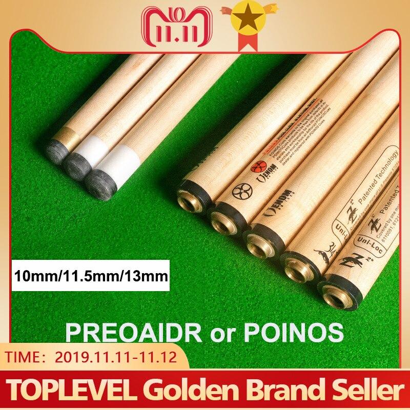 PREOAIDR 3142 Z2 POINOS Billiard Pool Stick Shaft 10mm 11.5mm 13mm Tip 8 Pieces In 1 Tecnologia Shaft Billar Kit Shaft China