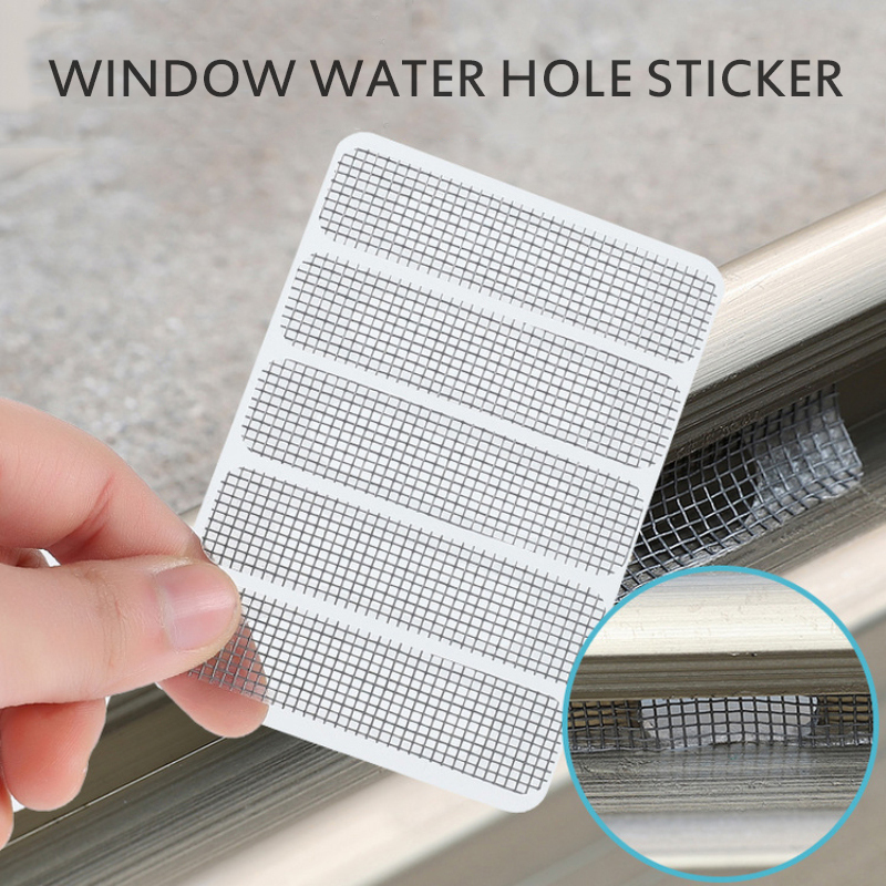 Net Mesh Anti-Mosquito Insect Window-Door-Screen Sticky-Wires-Patch Repair-Broken-Hole-Tape