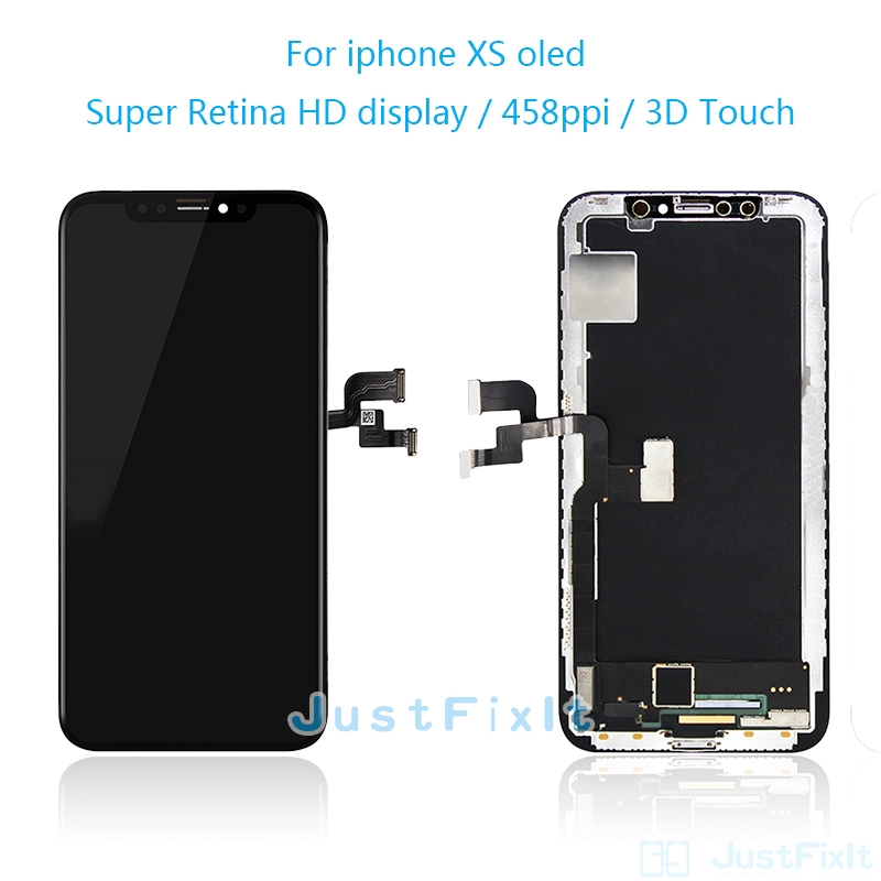 AAA+ For IPhone X OLED With 3D Touch Digitizer Assembly No Dead Pixel LCD Screen Replacement Display For IPhoneX LCD With Gift