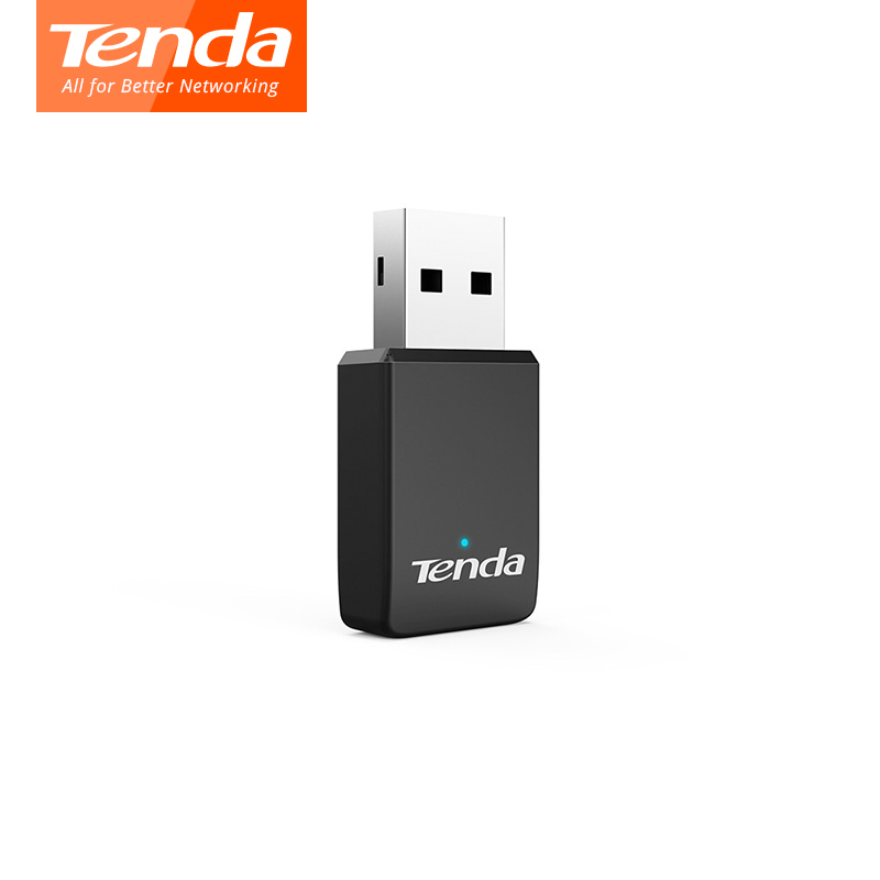Tenda U9 AC650Mbps 2.4G/5G Wifi Adapter AC650M Dual Band Auto-Install USB Adapter 802.11ac Ethernet Network Card Wi-fi Receiver