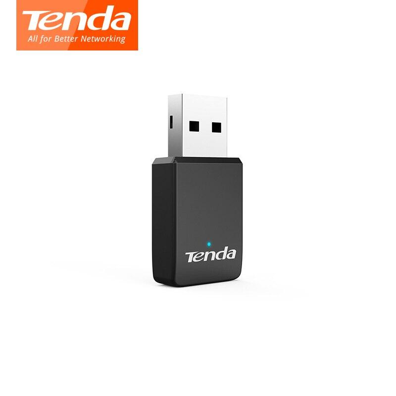 Tenda U9 AC650Mbps 2.4G/5G Wifi Adapter AC650M Dual Band Auto-Install USB Adapter 802.11ac Ethernet Network Card Wi-fi Receiver