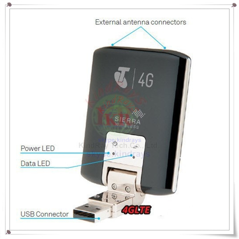USB Dongle Modem 3g Aircard Sierra Unlocked Android LTE 4G Sim-Slot 320U with Card-100mbps title=
