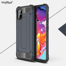 Armor Phone Case For Samsung Galaxy A51 Cover TPU & PC Protective Housings Phone Bumper For Samsung Galaxy A51 5G Case Funda armor phone case for samsung galaxy a51 cover tpu