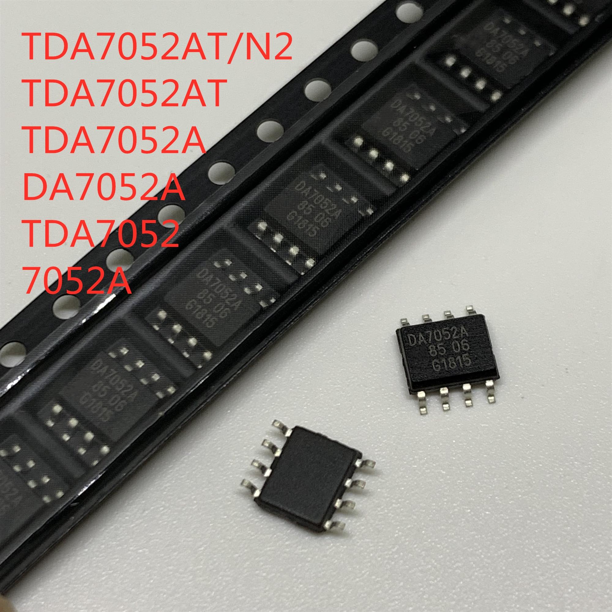 5pcs NEW TDA7052AT DA7052A SOP8