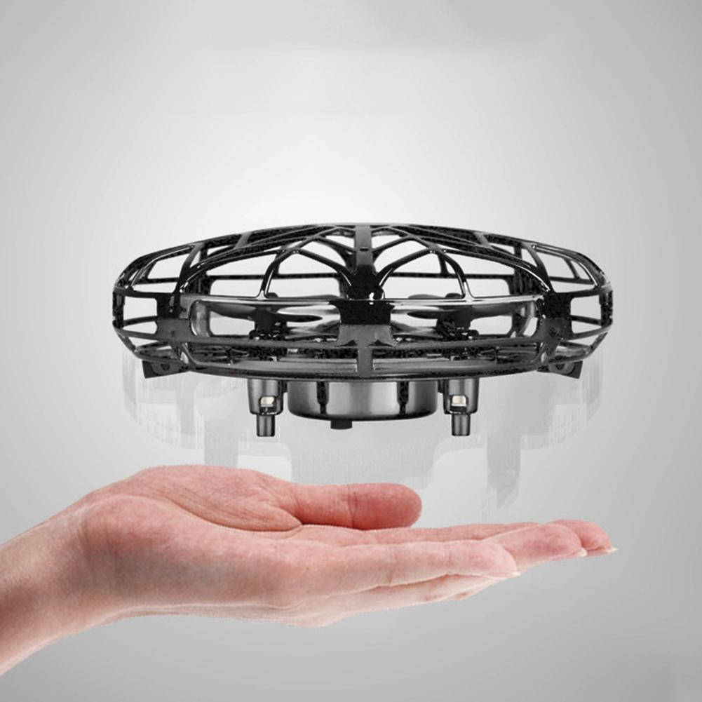 Anti-collision Flying Ufos Helicopter Magic Hand Flying Ball Aircraft Sensing Mini RC Drone Ufos Induction Aircraft Helicopte