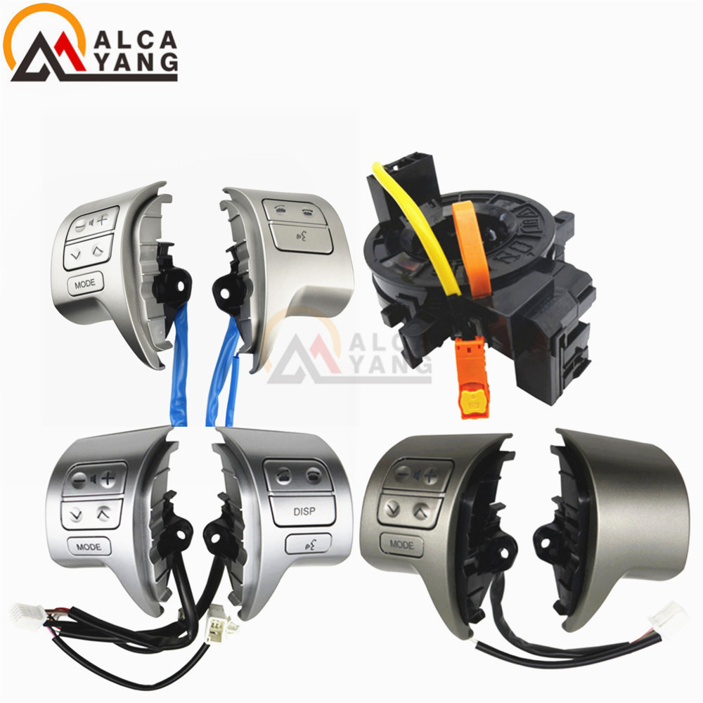 NEW! Bluetooth Steering Wheel Audio Control Switch For Toyota Corolla ZRE15 2007 2008 2009 2010 car styling .