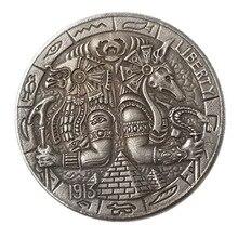 US 1937-D  Buffalo Nickel Five Cents Copy Coin Morgan Hobo Coins old coins for collection gift Token drop shipping