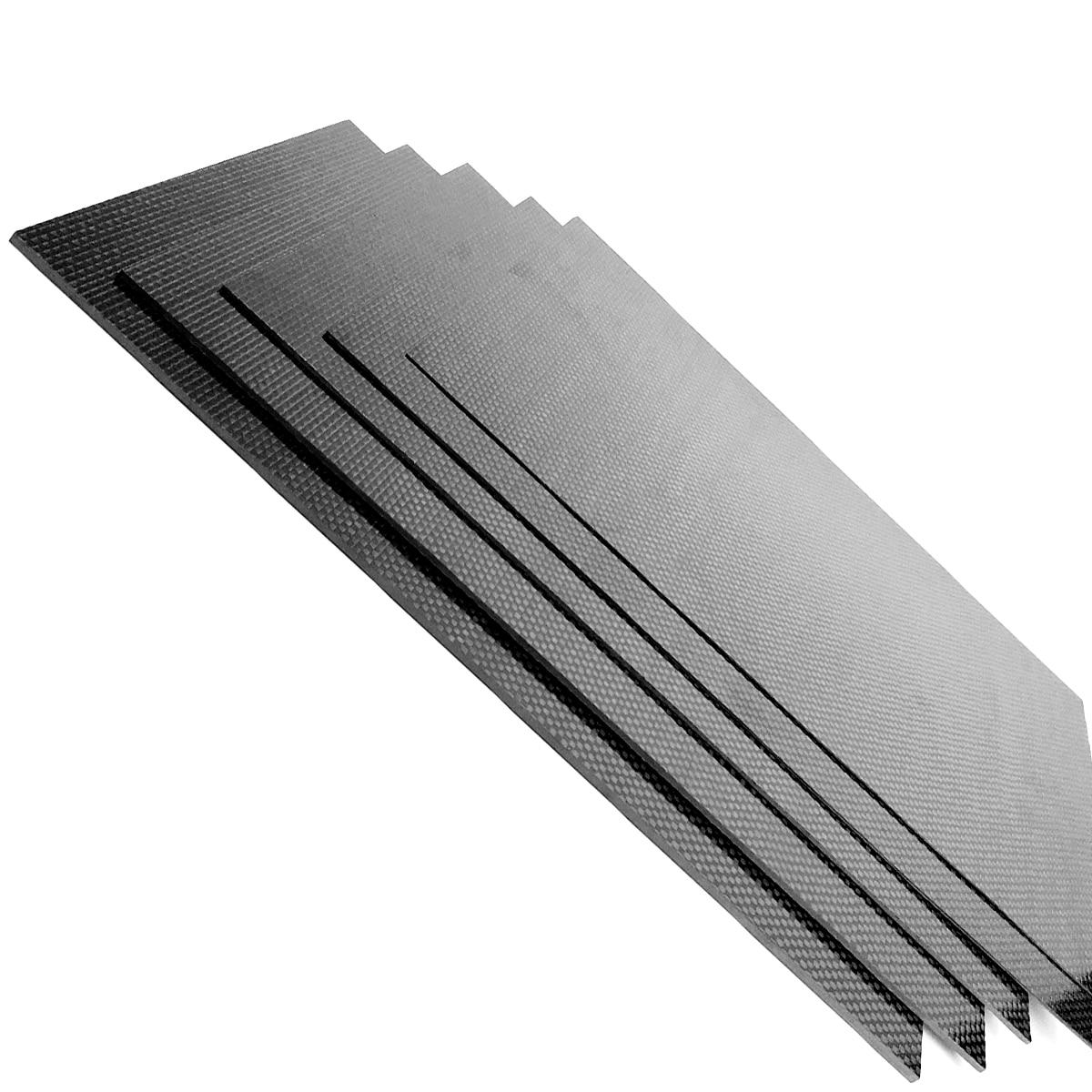 230mm X 170mm 3k Full Carbon Fiber Plate Panel 0.5/1/1.5/2/3mm Twill Weave Matt Surface Full Carbon Fiber Plate Panel Sheet