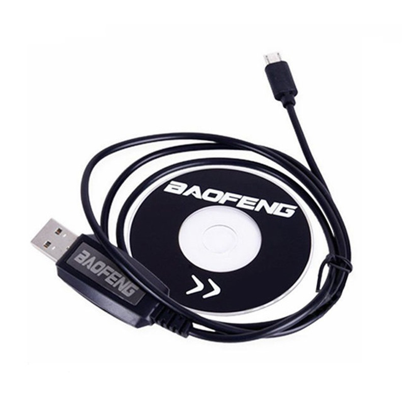 2020 Newest Hot Sale USB Programming Cable For Baofeng BF-T1 Bf T1 Mini Radio Walkie Talkie Brand New