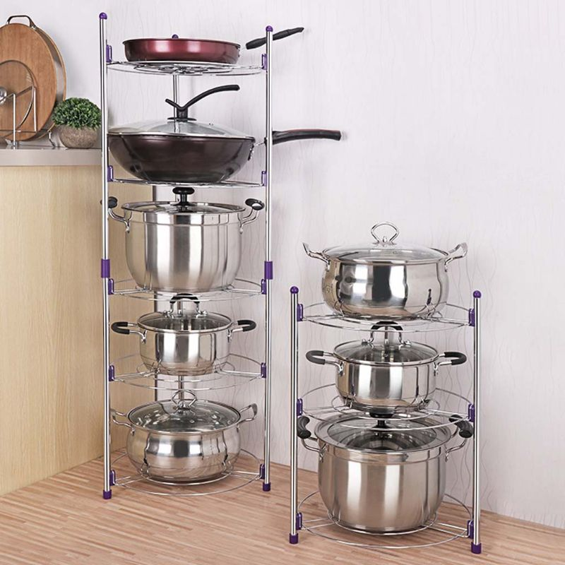 Pot Rack Cookware Holder Storage