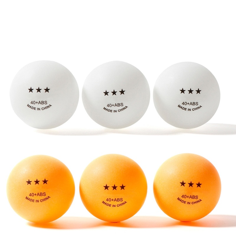 1/5PCS Professional Table Tennis Balls 3 Star 2.8g 40+mm New ABS Plastic Ball For Ping Pong Training Racquet Sports 2 Colors
