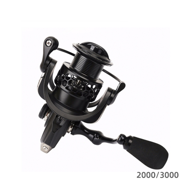 TSURINOYA NA 2000 3000 4000 5000 9BB Gear Ratio 5.2:1 Saltwater Freshwater Fishing Reels Spinning Reel Fishing 6-12kg Drag Power