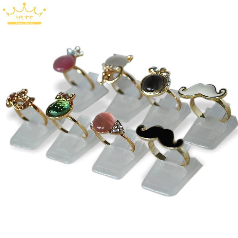 Wholesale Ring Show Plastic Frosted Jewelry Displays Holder For Ring, Decoration Stand 20pcs/Lot Free Shipping