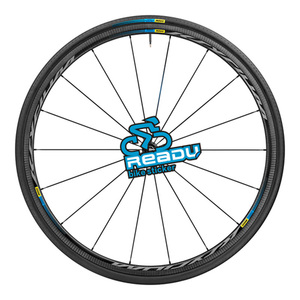 Image 4 - mavic KSYRIUM PRO Road Bike Wheelset stickes decals bicycle Wheel rims stickers  width is 10mm Suitable 20 30 rims for two wheel