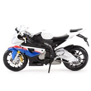 Image 4 - Maisto 1:12 BMW S 1000 RR Литой Транспортных средств Коллекционная хобби модель мотоцикла, игрушки