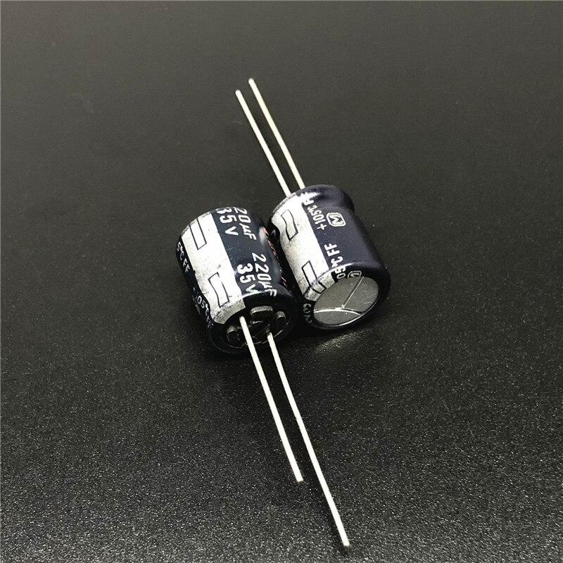 20pcs 470uF 35V Nichicon BT 10X20mm 35V470uF Highly reliability Capacitor