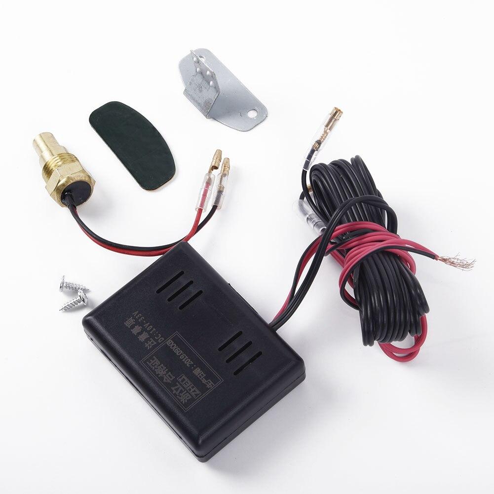 DC 9-36V Digital Water Temperature Gauge Kit Sensor Plug For Auto Car Engine