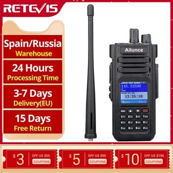 RETEVIS Ailunce HD1 DMR Radio Digital Walkie Talkie Ham Radio Amateur GPS DMR VHF UHF Dual Band DMR Two-Way Radio Communicator 1