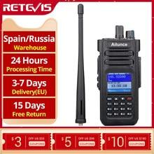 RETEVIS Ailunce HD1 DMR راديو المذياع اللاسلكي الرقمي هام راديو الهاوي لتحديد المواقع DMR VHF UHF ثنائي النطاق DMR اتجاهين راديو الاتصالات