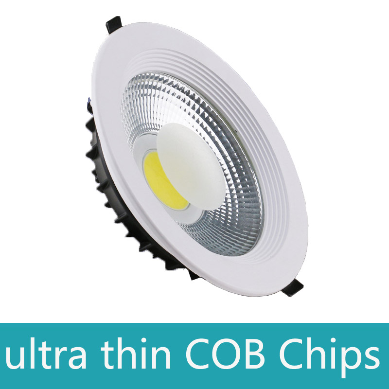 Neue Dimmbare Led Downlight COB Spot LED 5w 10w 20w 30w 40w 60w led einbau decke Lampe Warm Cool White led Spot Innen Lichter