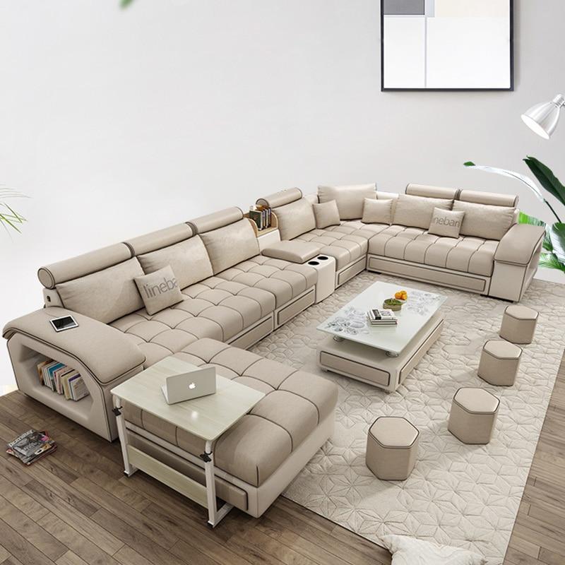 Living Room Furniture Modern Fabric