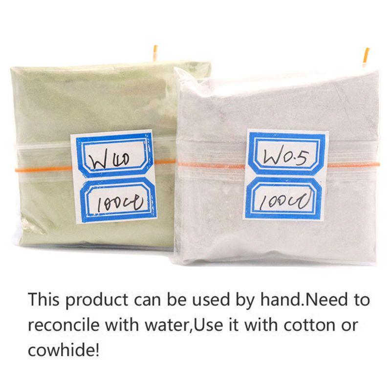 100 Carats / 20g W0.5 To W40 Polishing Powder Diamond Micron Powder Polishing Tools For Gemstones Jade Ceramics Carbide A5YD