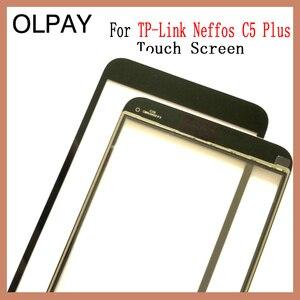 """Image 3 - OLPAY 5.34 """"מגע מסך עבור TP קישור Neffos C5 בתוספת מגע מסך Digitizer פנל קדמי זכוכית עדשת חיישן כלים דבק + מגבונים"""
