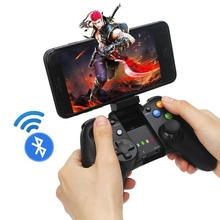 Bluetooth Android Joypad Gamepad Wireless Joystick for ios PC Mobile Phone with Flexible Holder for Smart TV Android BOX youtube premium warranty 1 month 1 year android mobile phone ios mobile phone computer notebook set top box for smart tv