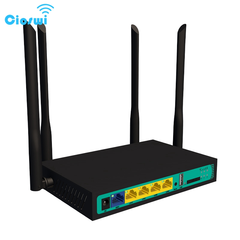 Cioswi WE2416 QCA9531 Chip 3G/4G/LTE Stabile Drahtlose wifi router hotspot lan access point USB 2.0 wireless router mit <font><b>sim</b></font> karte image