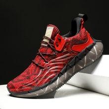 2020 модные летние дышащие мужские кроссовки на массивной подошве