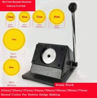25/32/37/44/50/56/58/75MM Metal DIY Round Paper PVC Circle Cutters  Button Badage Marking tools Die PVC Cutter Cutting Machine|Circle Cutters|   -