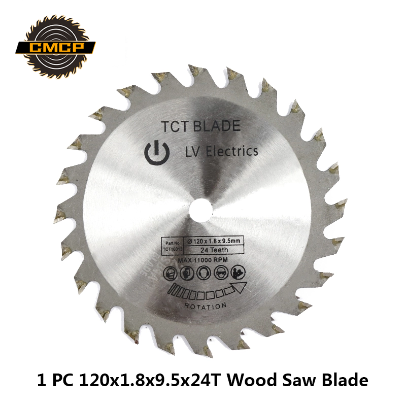 1pc 120x1.8x9.5x24T Circular Saw Blade For Wood Carbide Alloy Woodworking Saw Blade TCT Cutting Disc Saw Cutting Disc