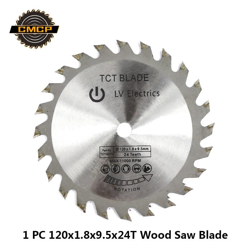1pc 120x1.8x9.5x24T Circular Saw Blade For Wood Carbide Alloy Woodworking Saw Blade TCT Cutting Disc Saw Cutting Disc
