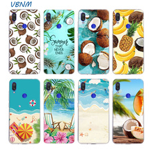Fruit Coconut Summer Blue Sky Shell Case For Xiaomi