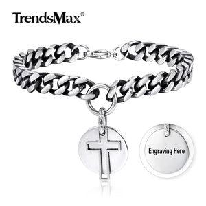 Trendsmax Men's Bracelet Cuban