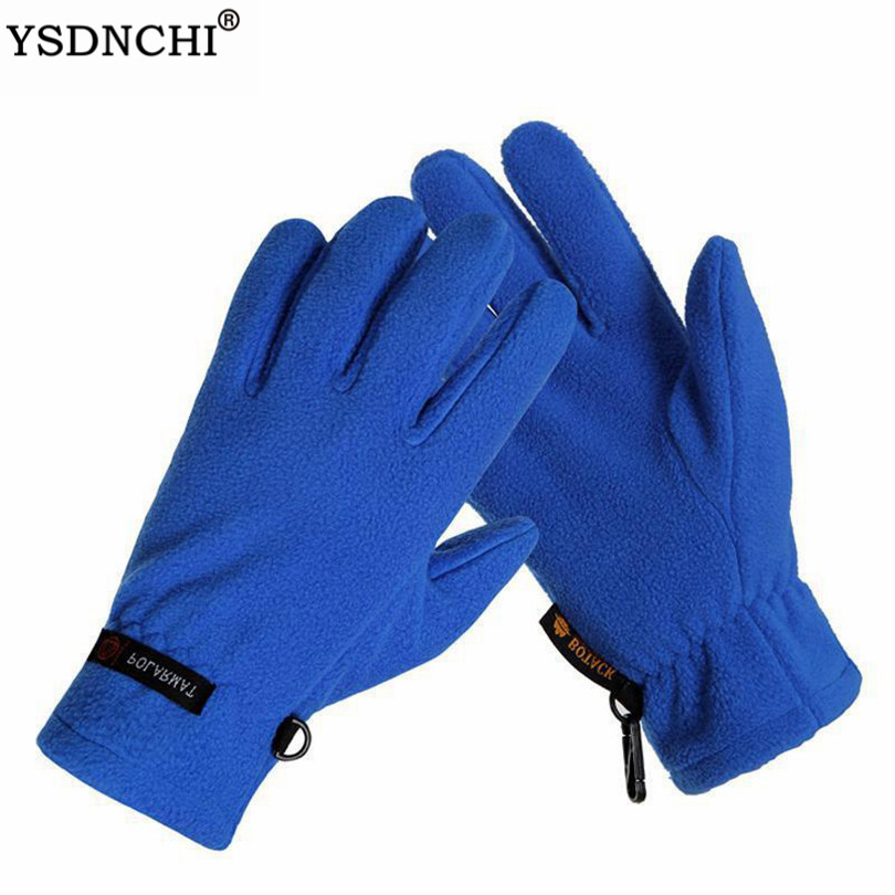 YSDNCHi Mittens Thermal Wincey  Mountain Hunting For Men And Women Cycling Gloves Winter Mittens Warm Touched Screen Gloves