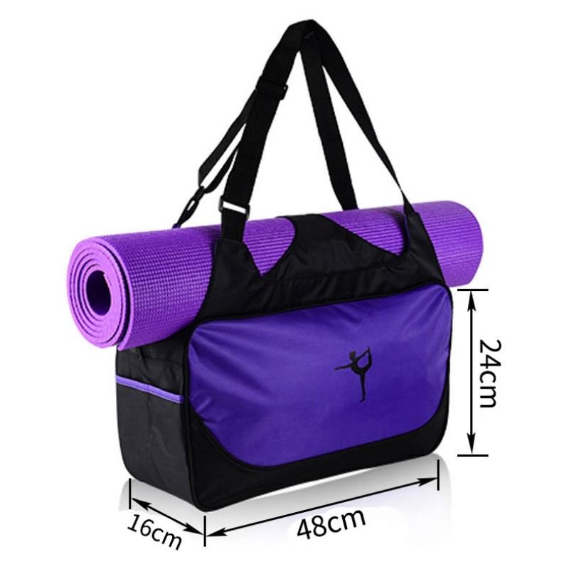 Large-capacity Yoga Mat Backpack Waterproof Yoga Bag Sports Fitness Bags Outdoor Travel Handbag Swimming Bag